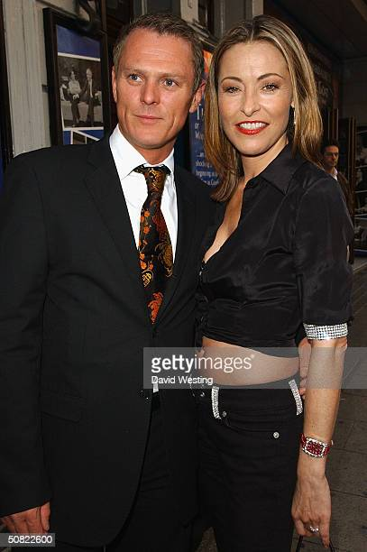 """Actress Amanda Donohoe and her new Boyfriend attend press night for """"Beautiful And Damned,"""" a new musical based on the lives of American novelist F..."""