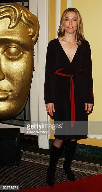 Actress Amanda Donohoe arrives at the British Academy Television Craft Awards at The Dorchester on May 8 2005 in London The awards honor the...