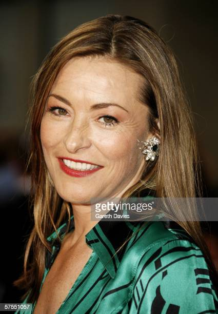 Actress Amanda Donohoe arrives at the Pioneer British Academy Television Awards 2006 at the Grosvenor House Hotel on May 7 2006 in London England