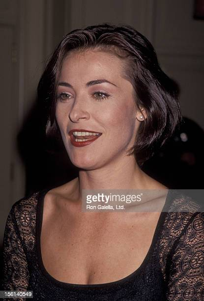 Actress Amanda Donohoe attends Screen Actors Guild Jack Oakie Awards on January 11 1994 at the Regent Beverly Wilshire Hotel in Beverly Hills...