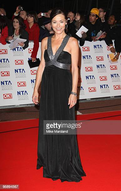 Actress Amanda Donohoe attends the 15th National Television Awards held at the O2 Arena on January 20 2010 in London England