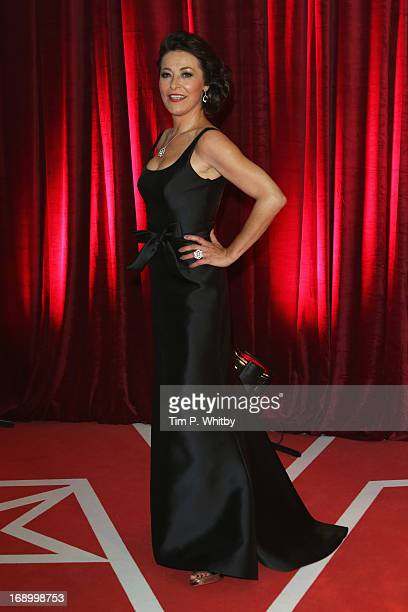 Actress Amanda Donohoe attends the British Soap Awards at Media City on May 18 2013 in Manchester England
