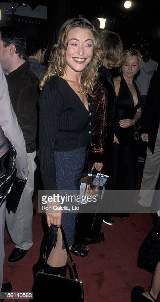 Actress Amanda Donohoe attends the screening of 'Soldier' on October 21 1998 at Mann Chinese Theater in Hollywood California