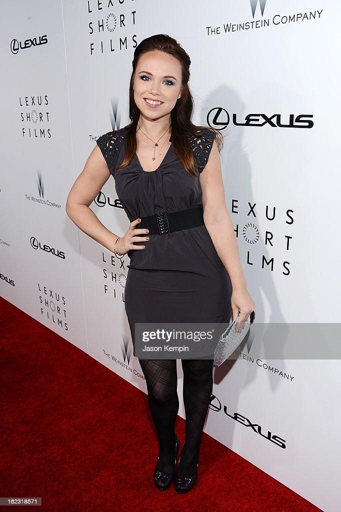"The Weinstein Company & Lexus Present Lexus Short Film Series ""Life Is Amazing"" : News Photo"