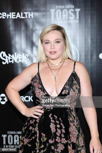 Actress Amanda Fuller attends Stupid Cancer Toast A 10Year Celebration at The Mezzanine on September 28 2017 in New York City