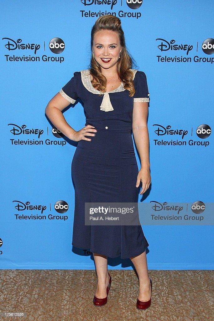 "Disney & ABC Television Group's ""2013 Summer TCA Tour"" - Arrivals : News Photo"