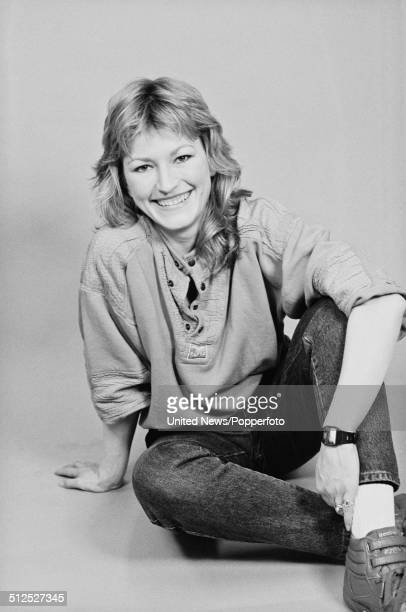 Actress Amanda Hillwood posed in London on 18th April 1986