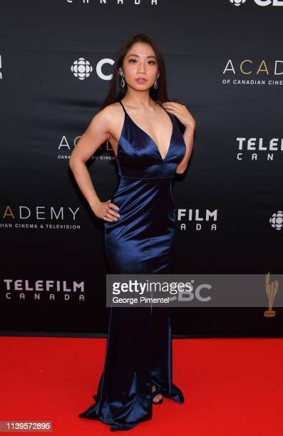 Actress Amanda Joy attends the 2019 Canadian Screen Awards Broadcast Gala at Sony Centre for the Performing Arts on March 31 2019 in Toronto Canada