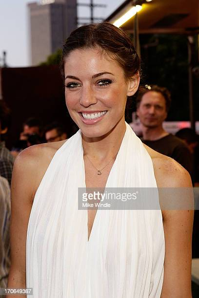 Actress Amanda Kimmel attends the LA Film Festival premiere of 'All Together Now' at Regal Cinemas LA Live on June 15 2013 in Los Angeles California