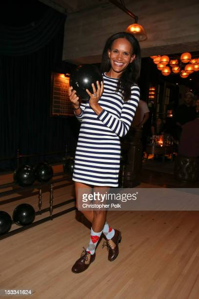 Actress Amanda Luttrell Garrigus attends the Burton Snowboards' Private Screening of '13' at The Spare Room on October 3 2012 in Los Angeles...