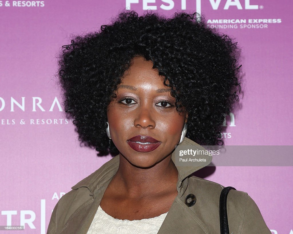 Actress Amanda Mason Warren attends the 5th annual Tribeca Film Festival 2013 LA reception at The Beverly Hilton Hotel on March 18, 2013 in Beverly Hills, California.
