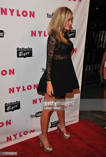 Actress Amanda Michalka arrives at NYLON Magazine May Young Hollywood Celebration Hosted by Emma Roberts and Rory Culkin Presented by Youtube and...