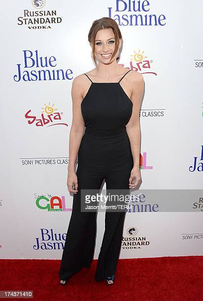 Actress Amanda Michalka arrives at the premiere of 'Blue Jasmine' hosted by AFI Sony Picture Classics at AMPAS Samuel Goldwyn Theater on July 24 2013...