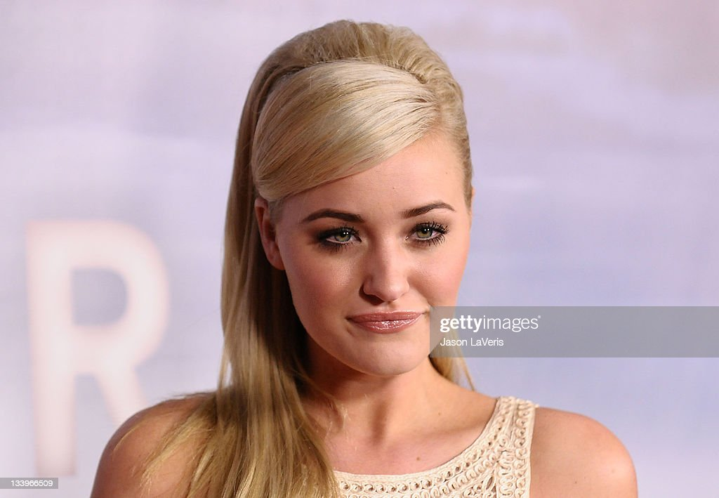 Actress Amanda Michalka attends the 'Super 8' blu-ray and DVD release party at AMPAS Samuel Goldwyn Theater on November 22, 2011 in Beverly Hills, California.