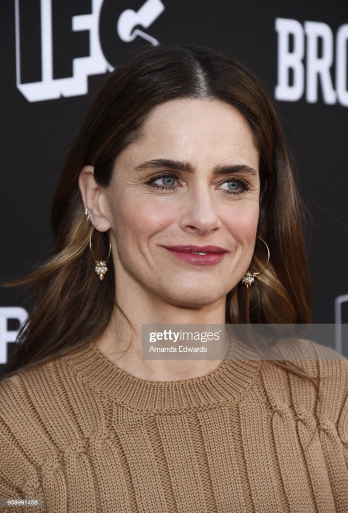 Actress Amanda Peet arrives at IFC 's 'Brockmire' and 'Portlandia' EMMY FYC red carpet event at the Saban Media Center on May 15, 2018 in North Hollywood, California.
