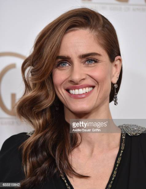 Actress Amanda Peet arrives at the 28th Annual Producers Guild Awards at The Beverly Hilton Hotel on January 28, 2017 in Beverly Hills, California.