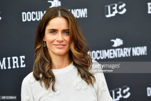Actress Amanda Peet arrives at the FYC event for IFC's 'Brockmire' and Documentary Now!' at Saban Media Center on May 31, 2017 in North Hollywood,...
