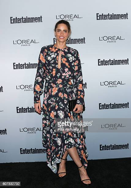 Actress Amanda Peet attends Entertainment Weekly's 2016 PreEmmy party at Nightingale Plaza on September 16 2016 in Los Angeles California