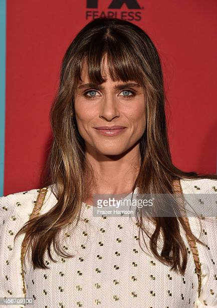 Actress Amanda Peet attends FX's American Horror Story Freak Show premiere screening at TCL Chinese Theatre on October 5 2014 in Hollywood California