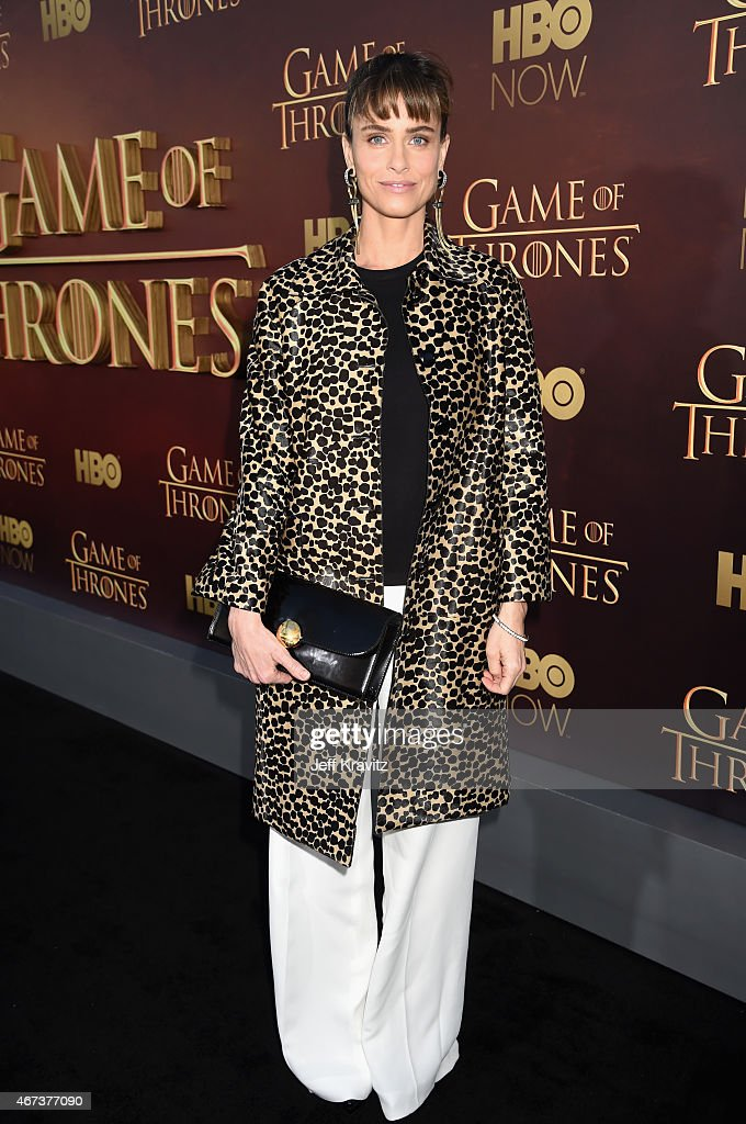 Actress Amanda Peet attends HBO's 'Game of Thrones' Season 5 Premiere and After Party at the San Francisco Opera House on March 23, 2015 in San Francisco, California.