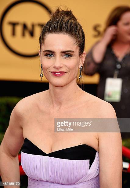 Actress Amanda Peet attends the 21st Annual Screen Actors Guild Awards at The Shrine Auditorium on January 25 2015 in Los Angeles California