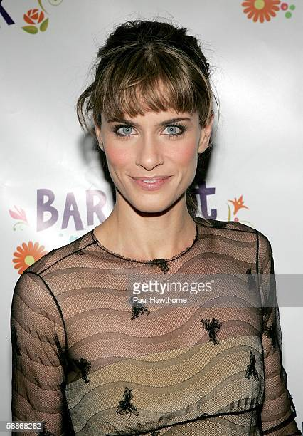 Actress Amanda Peet attends the after party for the play opening night of 'Barefoot in the Park' at Central Park Boathouse February 16 2006 in New...