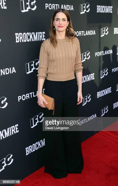 Actress Amanda Peet attends the Brockmire and Portlandia EMMY FYC Red Carpet Event hosted by IFC at Saban Media Center on May 15 2018 in North...