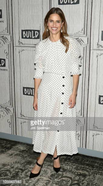Actress Amanda Peet attends the Build Series to discuss 'The Romanoffs' at Build Studio on October 30 2018 in New York City