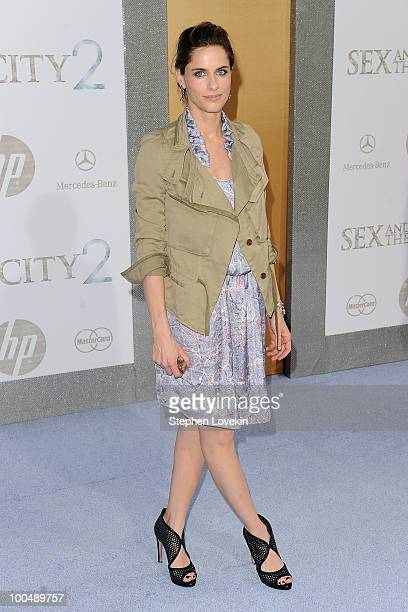 Actress Amanda Peet attends the premiere of Sex and the City 2 at Radio City Music Hall on May 24 2010 in New York City