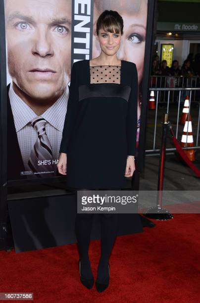 """Actress Amanda Peet attends the Premiere Of Universal Pictures' """"Identity Thief"""" on February 4, 2013 in Westwood, California."""
