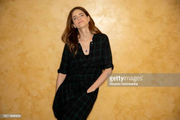 Actress Amanda Peet is photographed for Los Angeles Times on June 4, 2018 in Westwood, California. PUBLISHED IMAGE. CREDIT MUST READ: Ricardo...