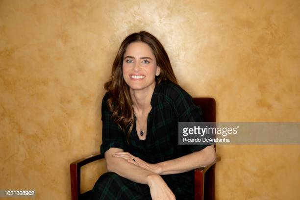 Actress Amanda Peet is photographed for Los Angeles Times on June 4 2018 in Westwood California PUBLISHED IMAGE CREDIT MUST READ Ricardo...