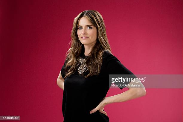 LOS ANGELES CA MARCH 21 2015 Actress Amanda Peet is photographed for Los Angeles Times on May 21 2015 in Los Angeles California PUBLISHED IMAGE...