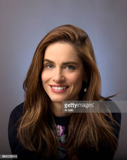 Actress Amanda Peet is photographed for Los Angeles Times on May 8 2017 in Los Angeles California PUBLISHED IMAGE CREDIT MUST READ Al Seib/Los...