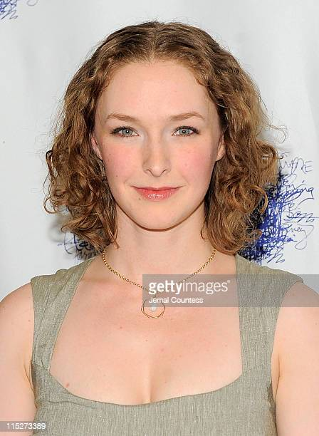 Actress Amanda Quaid attends the opening night party for Tony Kushner's The Illusion at the West Bank Cafe on June 5 2011 in New York City