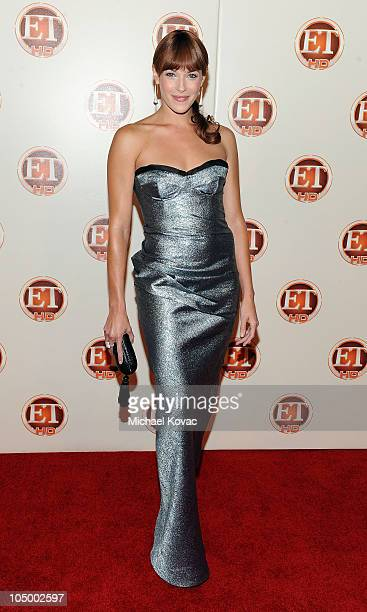 Actress Amanda Righetti arrives at Entertainment Tonight's 62nd Annual EMMY After Party at Vibiana on August 29 2010 in Los Angeles California