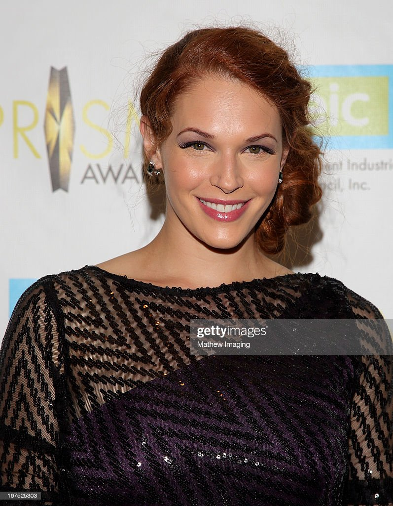 Actress Amanda Righetti arrives at the 17th Annual PRISM Awards at the Beverly Hills Hotel on April 25, 2013 in Beverly Hills, California.
