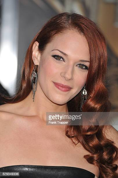 Actress Amanda Righetti arrives at the 'Clash of the Titans' premiere held at Grauman's Chinese Theater