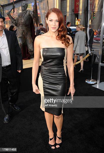 Actress Amanda Righetti arrives to the premiere Clash Of The Titans held at Grauman's Chinese Theatre on March 31 2010 in Los Angeles California
