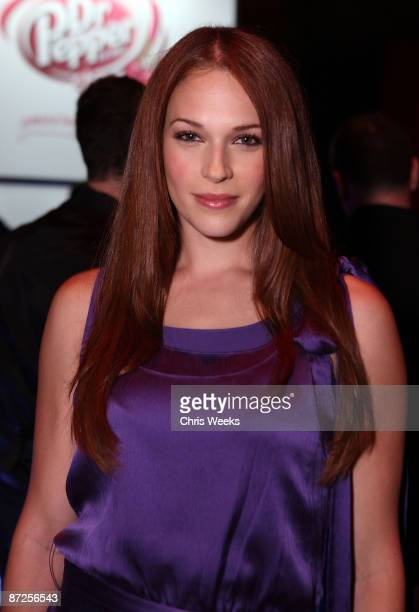Actress Amanda Righetti attends Maxim's 10th Annual Hot 100 Celebration Presented by Dr Pepper Cherry True Religion Brand Jeans Stolichnaya Vodka and...