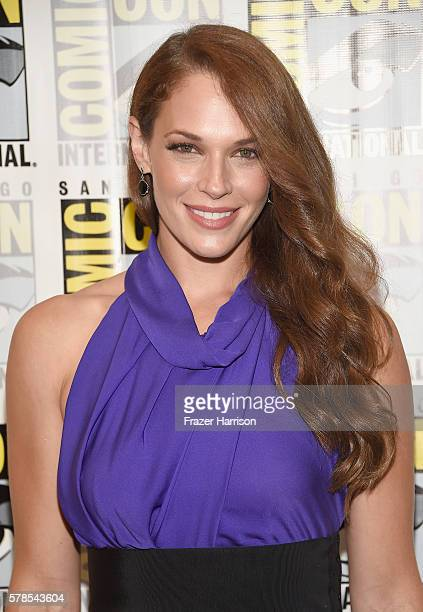 Actress Amanda Righetti attends the 'Colony' Press Line during ComicCon International 2016 at Hilton Bayfront on July 21 2016 in San Diego California