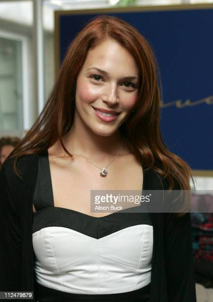 Actress Amanda Righetti attends the Kari Feinsten Primetime Emmy Awards style lounge at Zune LA on September 17 2009 in Los Angeles California