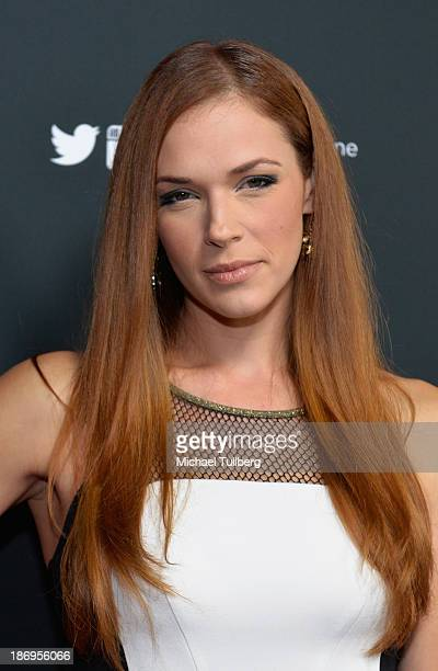Actress Amanda Righetti attends TV Guide Magazine's Annual Hot List Party at The Emerson Theatre on November 4 2013 in Hollywood California