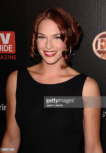 Actress Amanda Righetti attends TV Guide Magazine's Hot List Party at SLS Hotel on November 10 2009 in Beverly Hills California