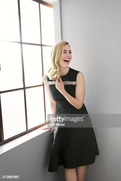 Actress Amanda Schull is photographed for TV Guide Magazine on January 15 2015 in Pasadena California