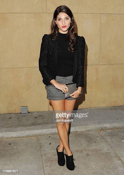 Actress Amanda Setton arrives at the Los Angeles Premiere 'Lovelace' at the Egyptian Theatre on August 5 2013 in Hollywood California