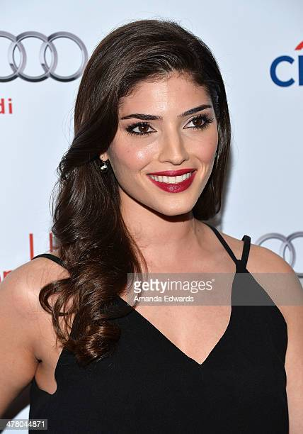 Actress Amanda Setton arrives at the The Television Academy's 23rd Hall Of Fame Induction Gala at The Regent Beverly Wilshire Hotel on March 11 2014...