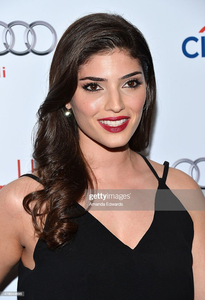 Actress Amanda Setton arrives at the The Television Academy's 23rd Hall Of Fame Induction Gala at The Regent Beverly Wilshire Hotel on March 11, 2014 in Beverly Hills, California.