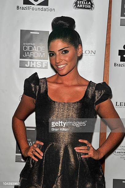 Actress Amanda Setton attends the 8th annual Brazil Foundation Gala after party at the Boom Boom Room on September 23 2010 in New York City
