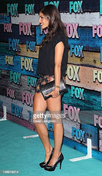 Actress Amanda Setton attends the FOX AllStar Party on July 23 2012 in West Hollywood California